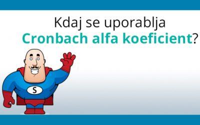 Cronbach Alfa Koeficient