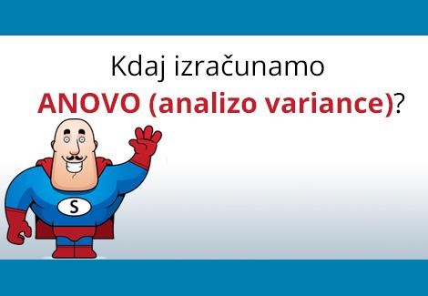 ANOVA (Analiza variance)