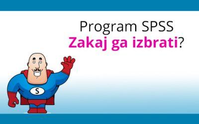 Program SPSS: Zakaj ga izbrati?